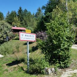 Chemin d'accès - Location de vacances - Saint-Maurice-Crillat