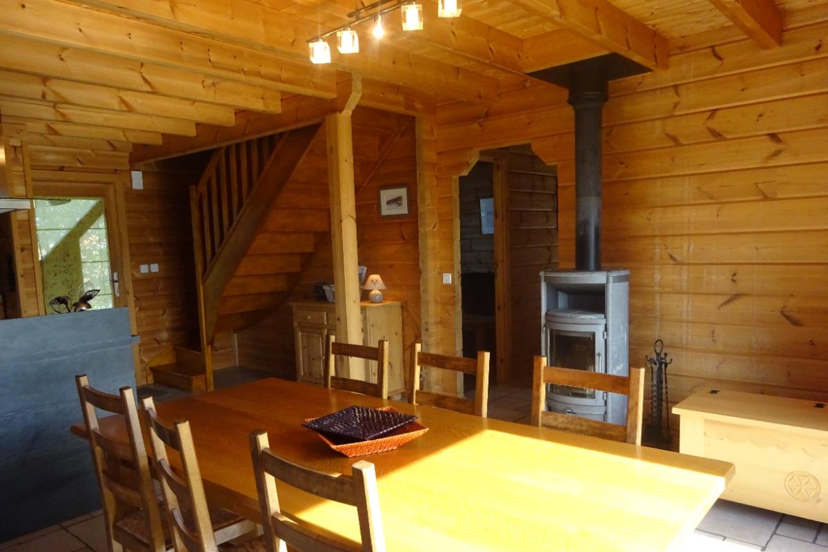Chalet dans le Haut Jura - séjour - Location de vacances - Saint-Pierre