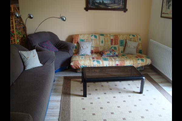 le salon détente - Location de vacances - Lavans-lès-Saint-Claude