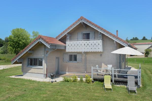 chalet façade sud - Location de vacances - Esserval-Combe
