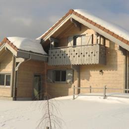 Chalet en hiver - Location de vacances - Esserval-Combe