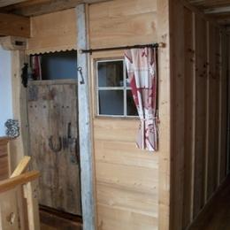 Les Andreys, chambre Le Fenaud la petite chambre cabane pour les enfants - Chambre d'hôtes - Saint-Pierre