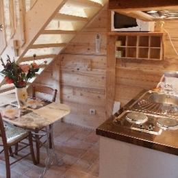 Le Fenaud la cuisinette - Chambre d'hôtes - Saint-Pierre