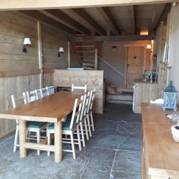espace petit déjeuner - Chambre d'hôtes - Charcier
