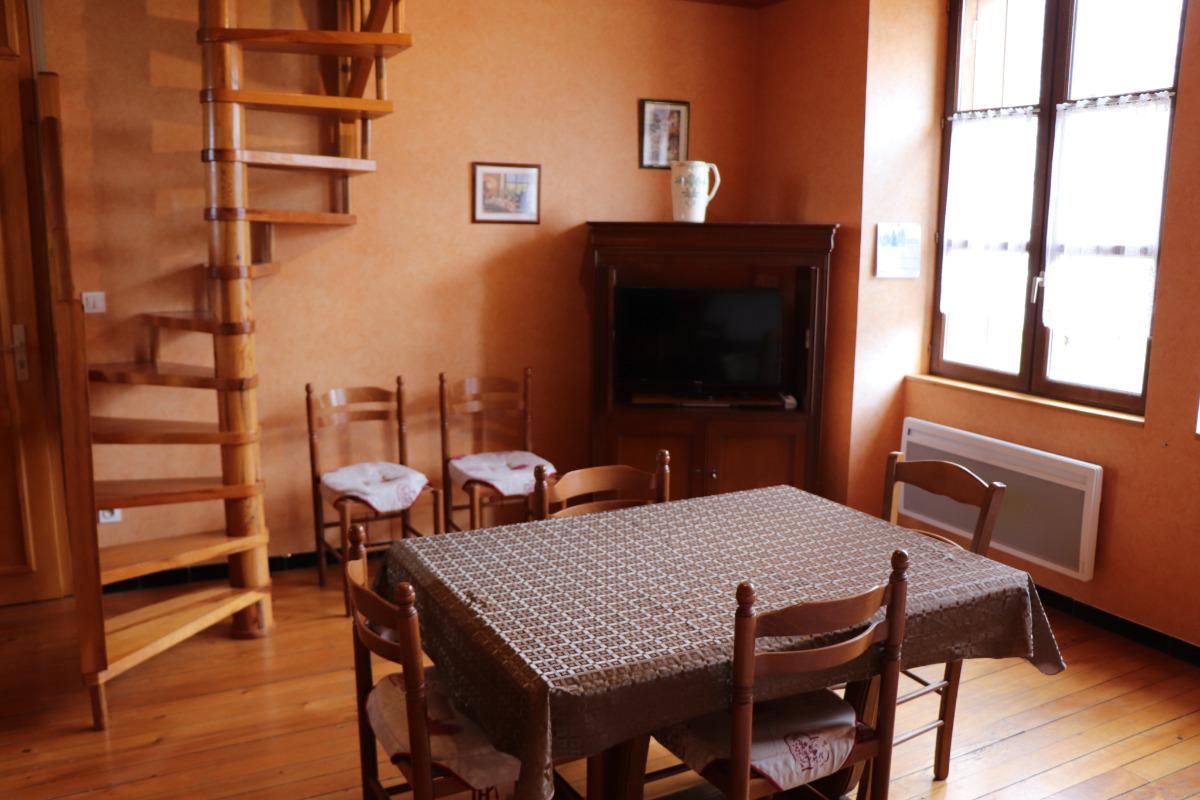 Salon/Salle à manger - Location de vacances - Mignovillard
