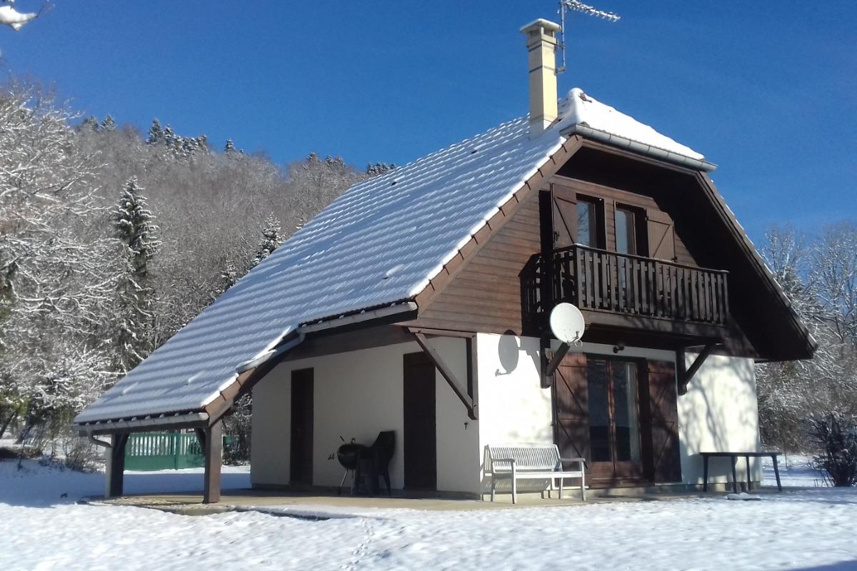 Terrasse plein Sud - Location de vacances - Marigny