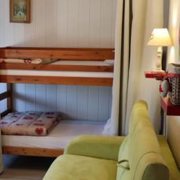 Canapé lits - Location de vacances - La Châtelaine