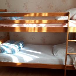 lits superposés  - Location de vacances - Lajoux