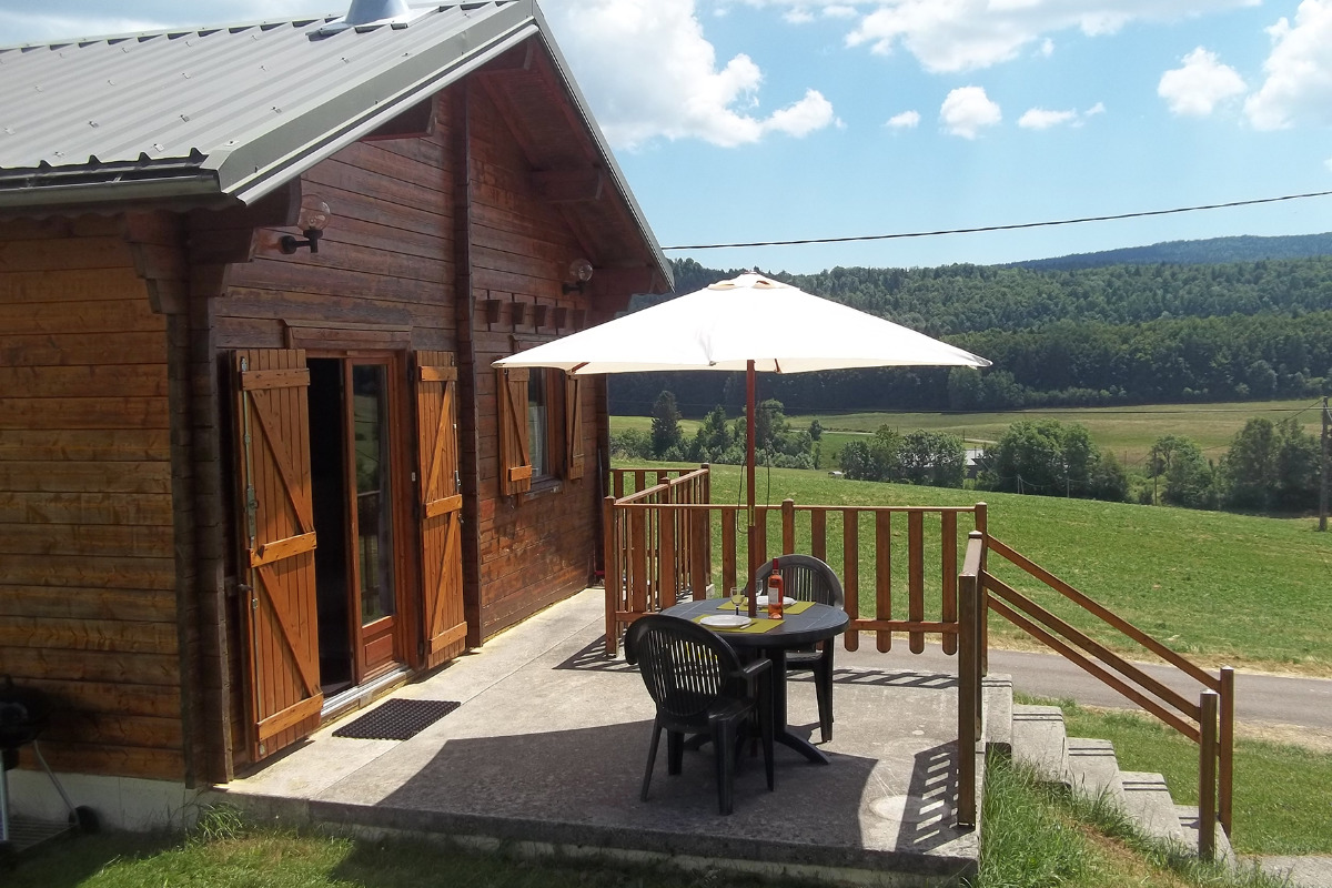 Terrasse - Location de vacances - Longchaumois