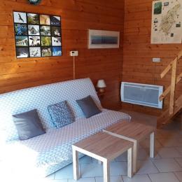 Pièce à vivre - Location de vacances - Longchaumois