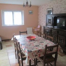 salle à manger - Location de vacances - Lajoux