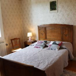 La chambre indépendante lit 140 - Location de vacances - Clairvaux-les-Lacs