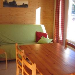 Canapé  - Location de vacances - Foncine-le-Haut