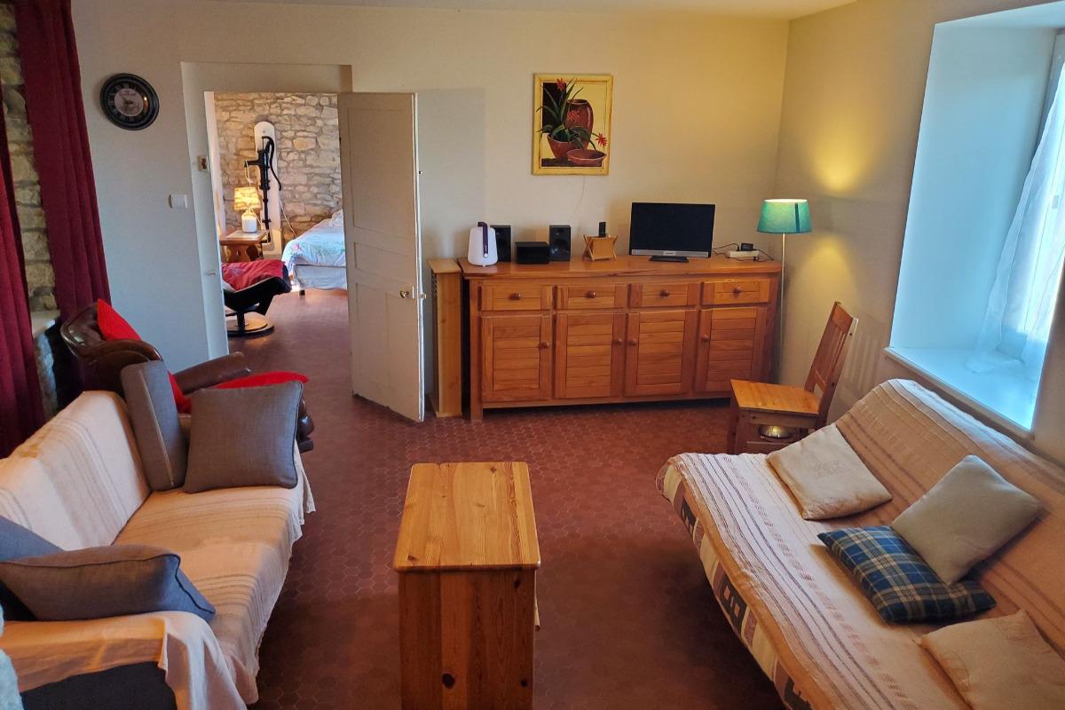 Un coin de la cuisine  - Location de vacances - Sellières