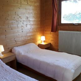 La deuxième chambre lit 140 - Location de vacances - Les Rousses