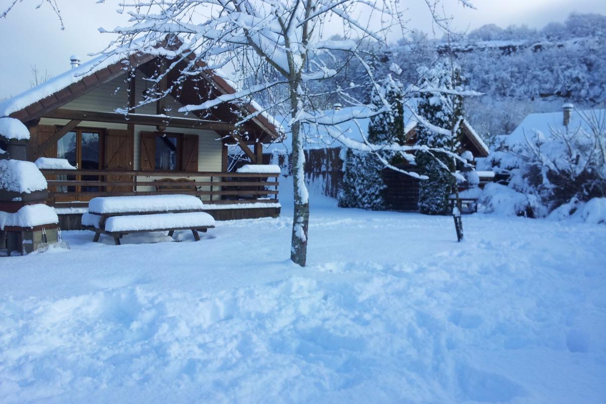 Chalet 1er décembre 2017 - Location de vacances - Doucier