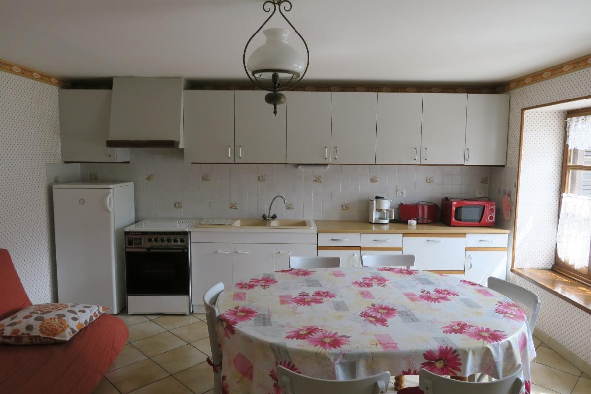 La cuisine - Location de vacances - Bellefontaine