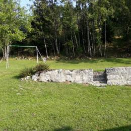Le côté de la maison - Location de vacances - Bellefontaine