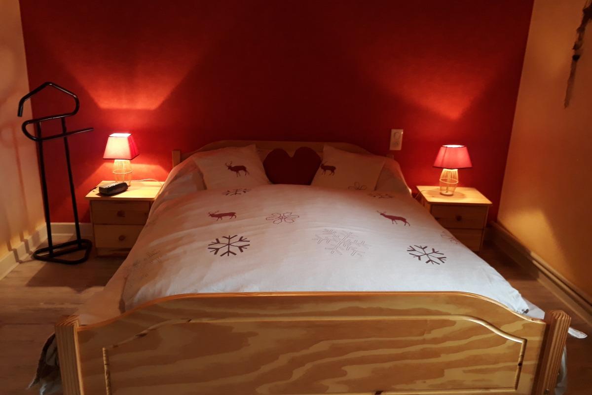 Chambre chaleureuse  - Location de vacances - Loulle