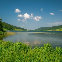 Plage aménagé lac des rousses - Location de vacances - Les Rousses