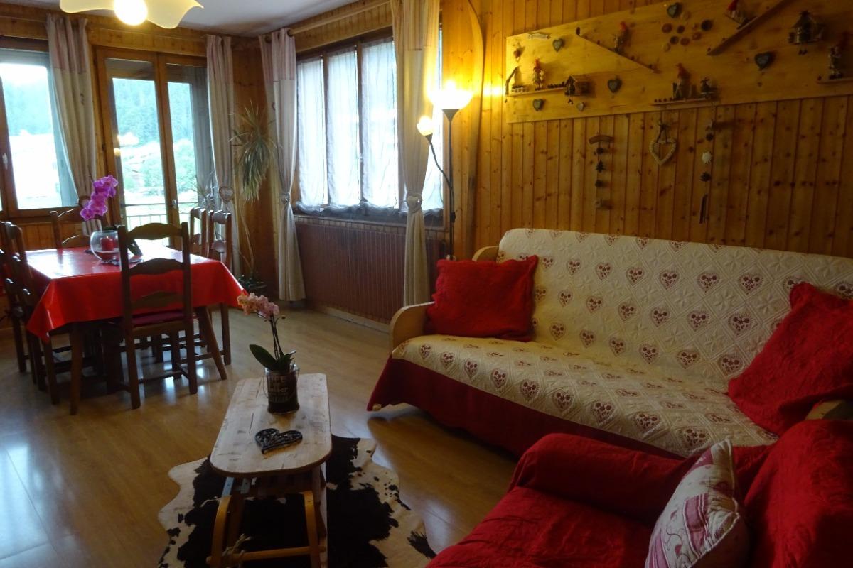 Salon séjour - Chambre d'hôtes - Bois-d'Amont