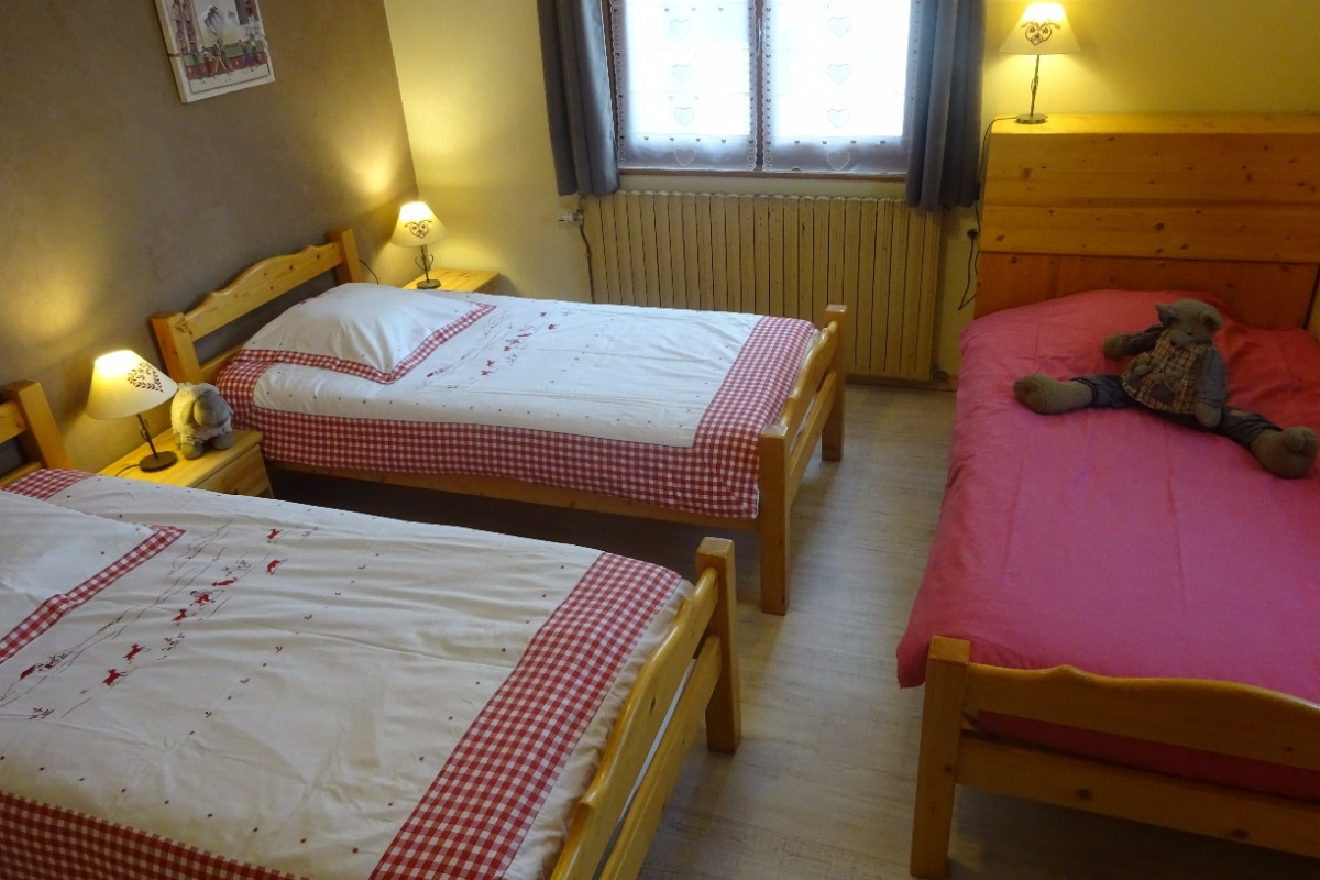 3 lits - Chambre d'hôtes - Bois-d'Amont