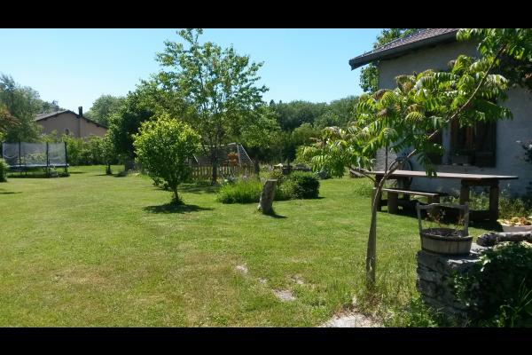 Extérieur Jardin - Location de vacances - Charcier