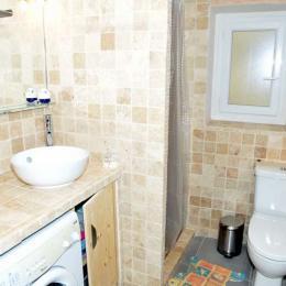 Salle de bain avec douche à l'Italienne - Location de vacances - Salins-les-Bains