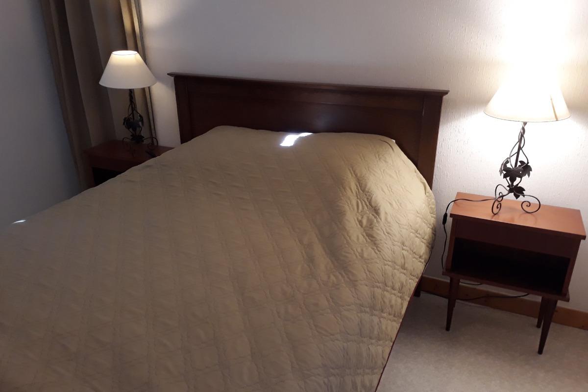 La chambre lit 140  - Location de vacances - Longchaumois