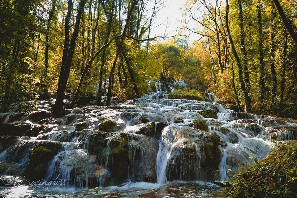Gîte dans le Jura - Cascades de Baume les Messieurs - Location de vacances - Crançot