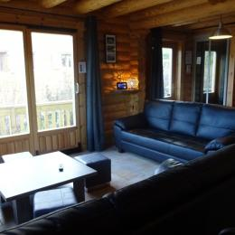 Chalet Haut Jura - salon - Location de vacances - Foncine-le-Bas