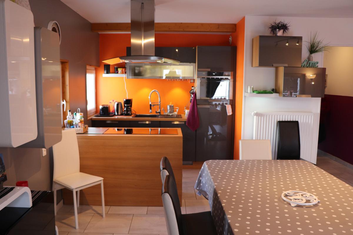 Logement au centre des Rousses - coin cuisine - Location de vacances - Les Rousses