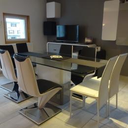 Logement au centre des Rousses - séjour - Location de vacances - Les Rousses