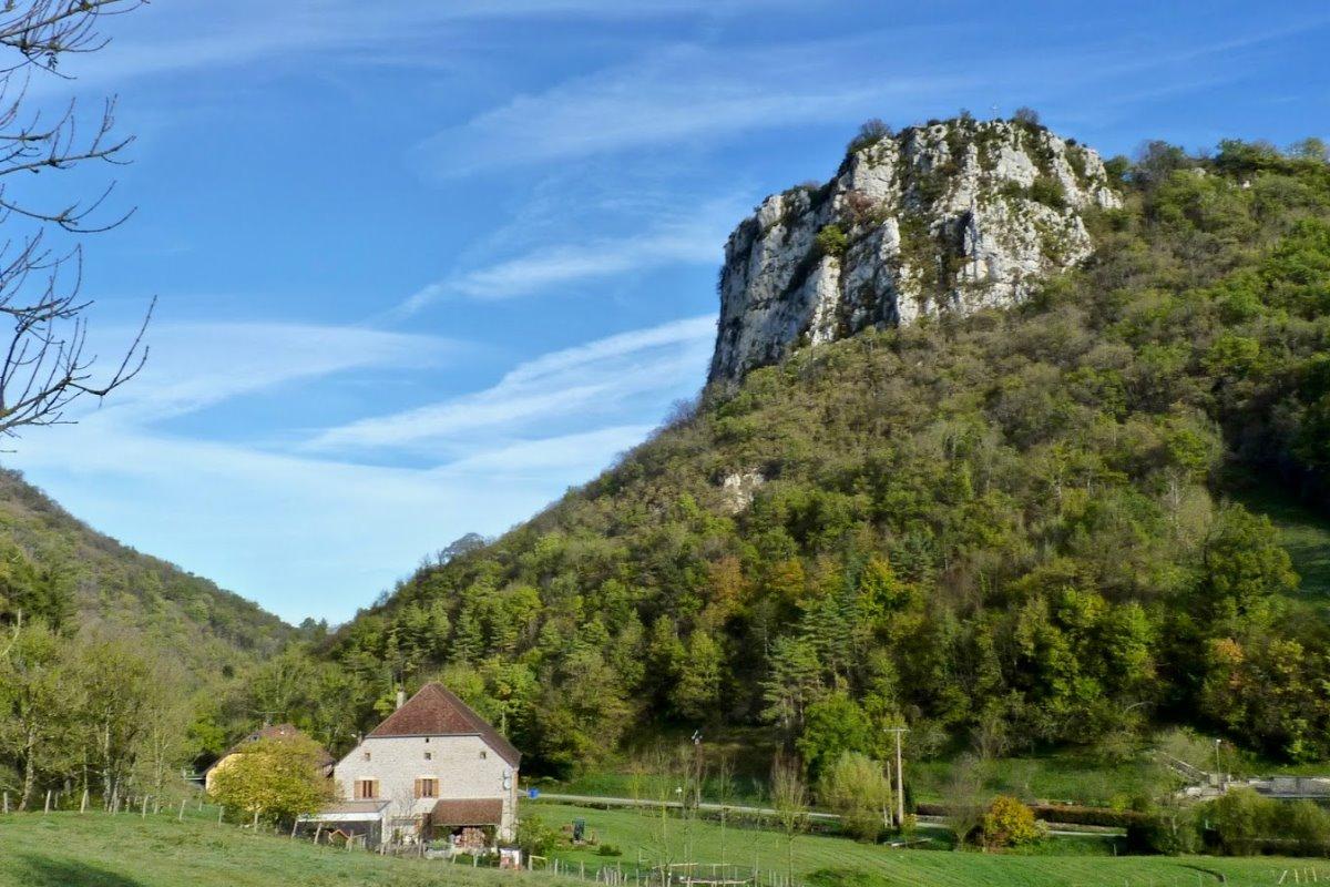 vue d'ensemble de la localisation du gîte - Location de vacances - Pretin