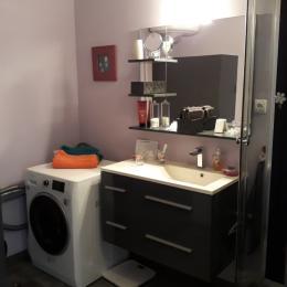 La salle d'eau - Location de vacances - Salins-les-Bains