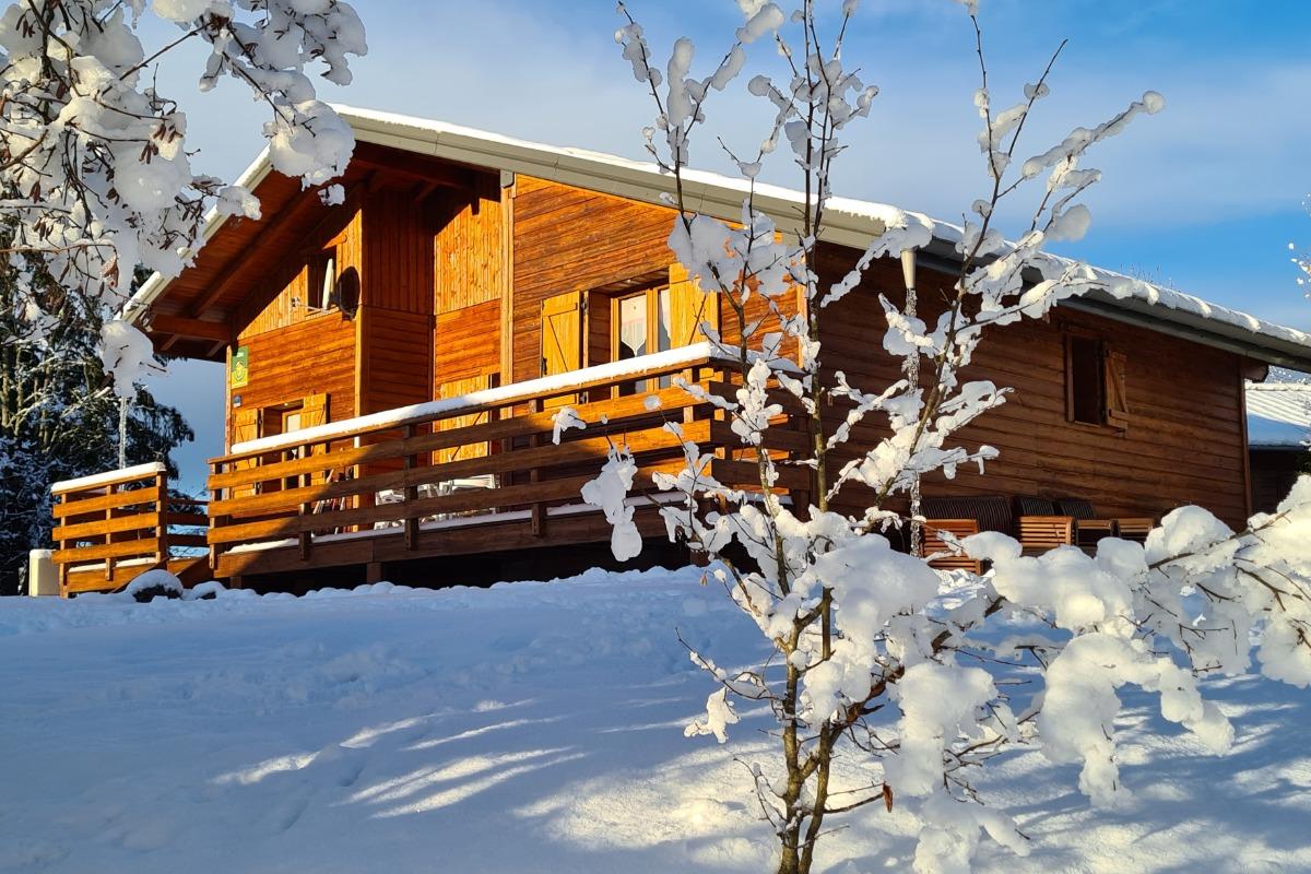 Le chalet sous la neige - Location de vacances - Saint-Laurent-en-Grandvaux
