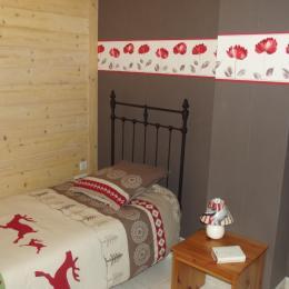 Chambre 1 personne - Location de vacances - Lac-des-Rouges-Truites