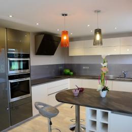 Chambre lit 160 - Location de vacances - Morbier