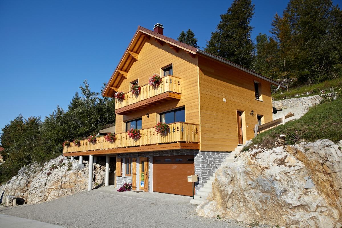 Magnifique chalet - Location de vacances - Foncine-le-Haut