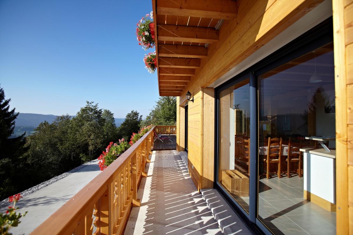Grand balcon  - Location de vacances - Foncine-le-Haut