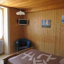 La chambre (double)  - Location de vacances - Chaux-des-Crotenay