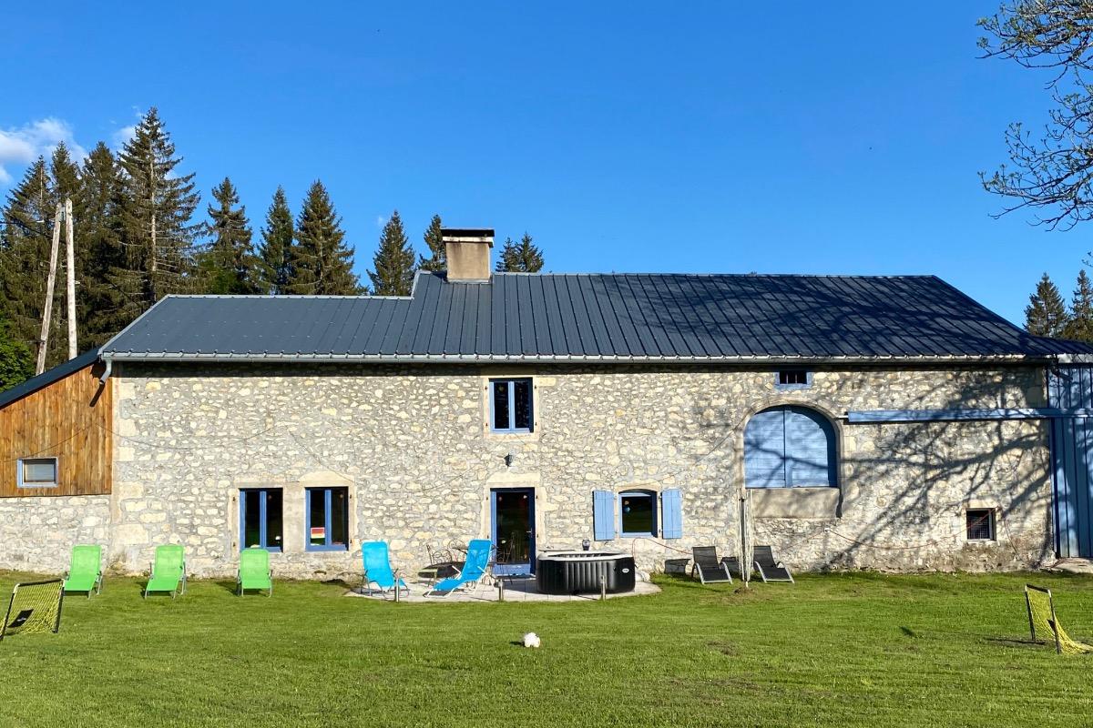 Notre ferme - Location de vacances - Longchaumois