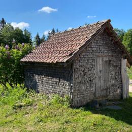 Le grenier fort, particularité du Jura - Location de vacances - Longchaumois