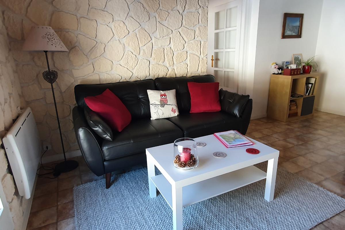 Salon - Location de vacances - Lamoura