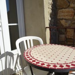 jardin - Location de vacances - La Rochegiron