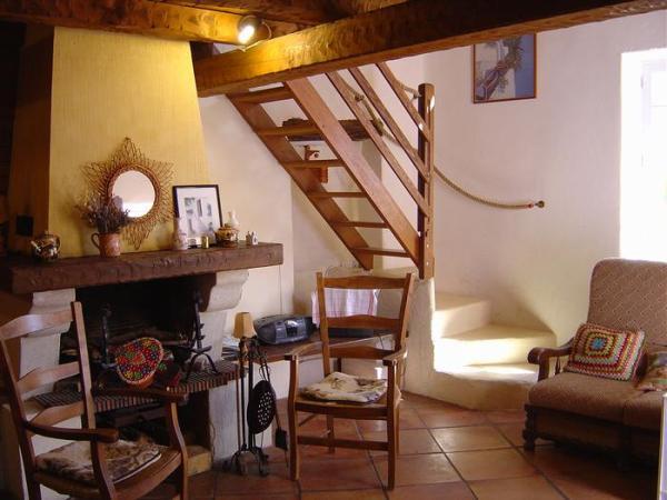 Coin salon  - Location de vacances - Castellane