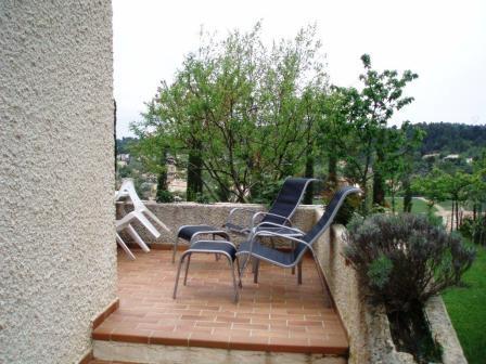 terrasse , solarium - Location de vacances - Gréoux-les-Bains