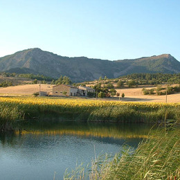 Vue de la maison - Location de vacances - Melve