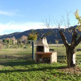 TERRASSE COUVERTE AU RDC - Location de vacances - Oraison