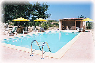 la piscine - Location de vacances - Pierrerue